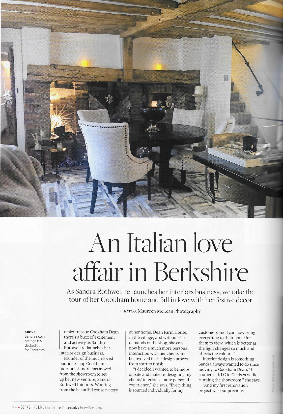 Sandra Rothwell Berkshire Life Magazine
