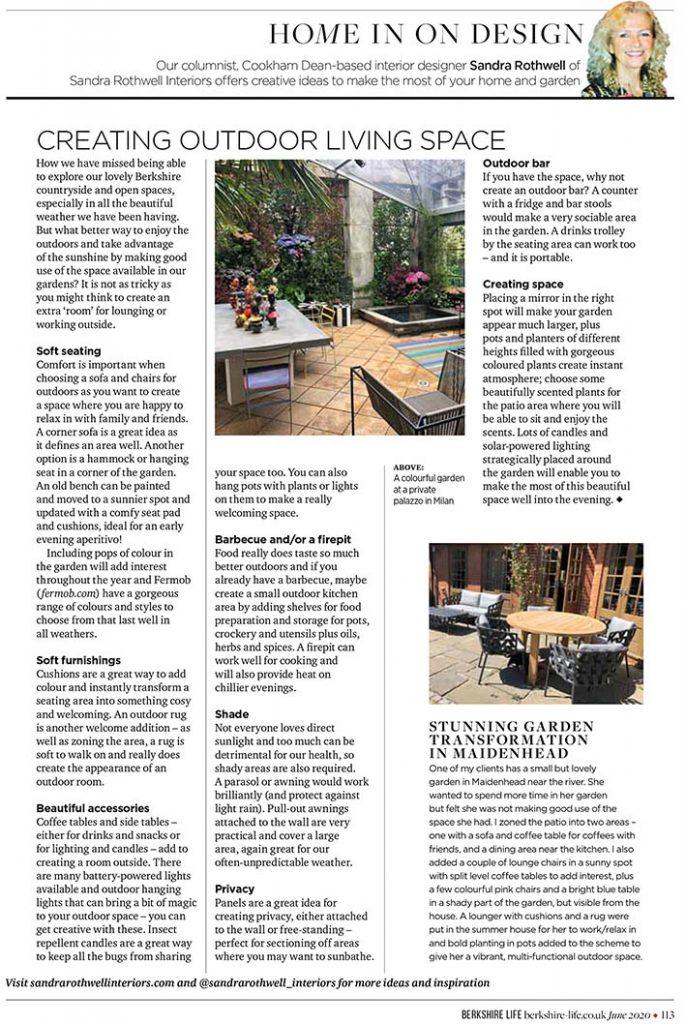 Berkshire Life column June