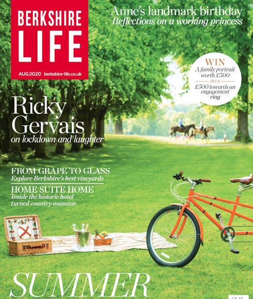 Berkshire Life Magazine, August column