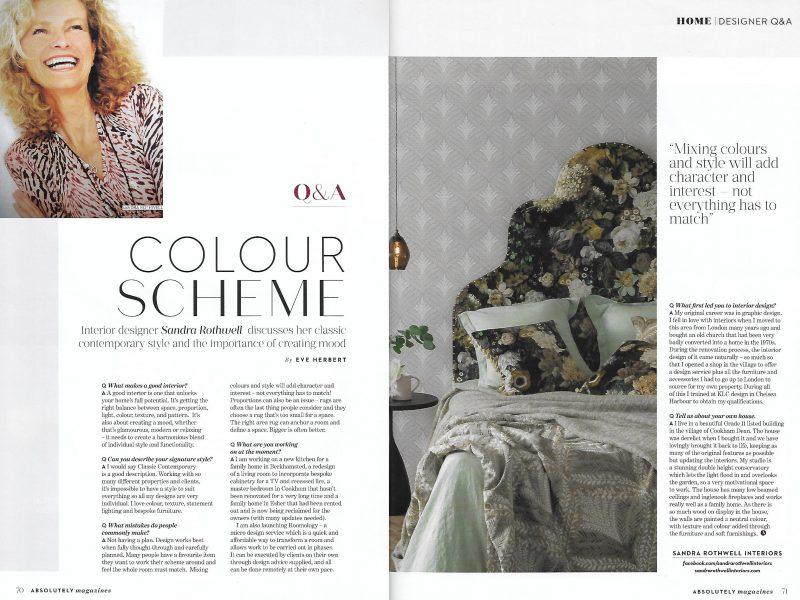 Q & A with Sandra Rothwell